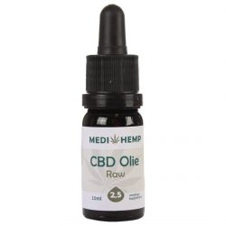 Medihemp CBD Olie RAW 2,5% (10ml)